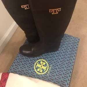 Tory Burch Miller Leather Boots